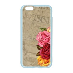 Flower Floral Bouquet Background Apple Seamless iPhone 6/6S Case (Color)