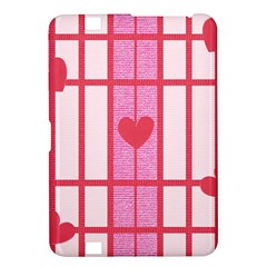 Fabric Magenta Texture Textile Love Hearth Kindle Fire HD 8.9