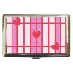 Fabric Magenta Texture Textile Love Hearth Cigarette Money Cases