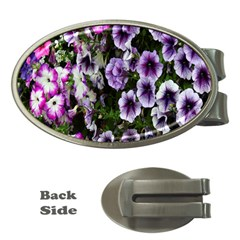 Flowers Blossom Bloom Plant Nature Money Clips (Oval)