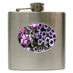 Flowers Blossom Bloom Plant Nature Hip Flask (6 oz)