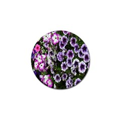 Flowers Blossom Bloom Plant Nature Golf Ball Marker (4 pack)