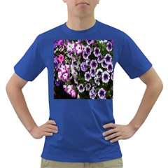 Flowers Blossom Bloom Plant Nature Dark T-Shirt
