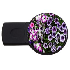 Flowers Blossom Bloom Plant Nature USB Flash Drive Round (4 GB)