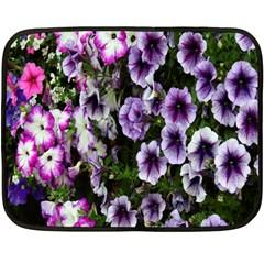 Flowers Blossom Bloom Plant Nature Fleece Blanket (Mini)
