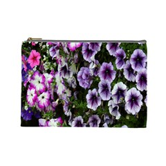 Flowers Blossom Bloom Plant Nature Cosmetic Bag (Large)