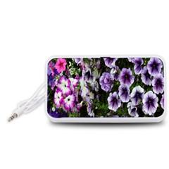 Flowers Blossom Bloom Plant Nature Portable Speaker (White)