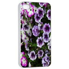 Flowers Blossom Bloom Plant Nature Apple iPhone 4/4s Seamless Case (White)