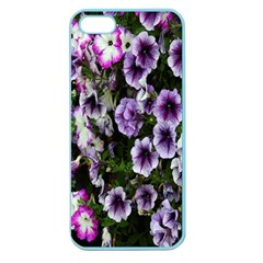 Flowers Blossom Bloom Plant Nature Apple Seamless iPhone 5 Case (Color)