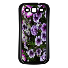 Flowers Blossom Bloom Plant Nature Samsung Galaxy S3 Back Case (Black)