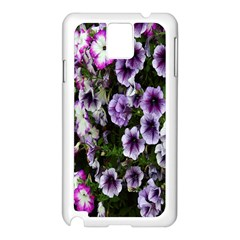 Flowers Blossom Bloom Plant Nature Samsung Galaxy Note 3 N9005 Case (White)