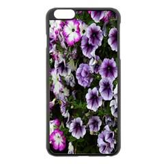 Flowers Blossom Bloom Plant Nature Apple iPhone 6 Plus/6S Plus Black Enamel Case