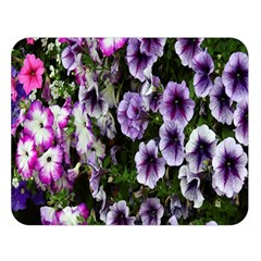Flowers Blossom Bloom Plant Nature Double Sided Flano Blanket (Large)
