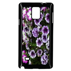 Flowers Blossom Bloom Plant Nature Samsung Galaxy Note 4 Case (Black)