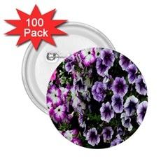 Flowers Blossom Bloom Plant Nature 2.25  Buttons (100 pack)