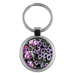 Flowers Blossom Bloom Plant Nature Key Chains (Round)