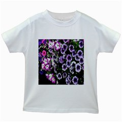 Flowers Blossom Bloom Plant Nature Kids White T-Shirts