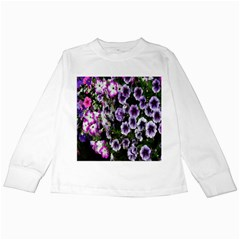 Flowers Blossom Bloom Plant Nature Kids Long Sleeve T-Shirts
