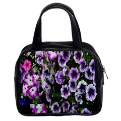 Flowers Blossom Bloom Plant Nature Classic Handbags (2 Sides)