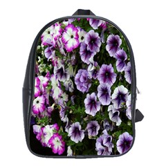 Flowers Blossom Bloom Plant Nature School Bags(Large)