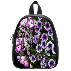 Flowers Blossom Bloom Plant Nature School Bags (Small)