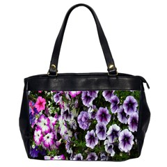 Flowers Blossom Bloom Plant Nature Office Handbags (2 Sides)