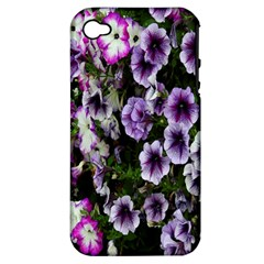Flowers Blossom Bloom Plant Nature Apple iPhone 4/4S Hardshell Case (PC+Silicone)