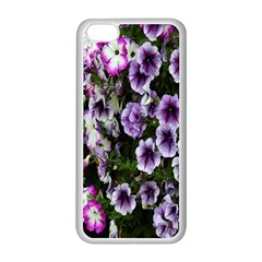 Flowers Blossom Bloom Plant Nature Apple iPhone 5C Seamless Case (White)