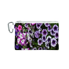 Flowers Blossom Bloom Plant Nature Canvas Cosmetic Bag (S)