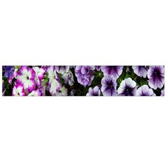 Flowers Blossom Bloom Plant Nature Flano Scarf (Large)
