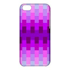 Geometric Cubes Pink Purple Blue Apple iPhone 5C Hardshell Case
