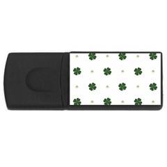 Green Leaf USB Flash Drive Rectangular (2 GB)