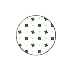 Green Leaf Hat Clip Ball Marker (10 pack)