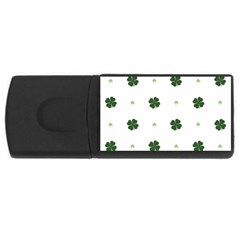 Green Leaf USB Flash Drive Rectangular (4 GB)