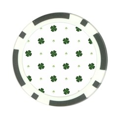 Green Leaf Poker Chip Card Guards