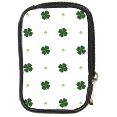 Green Leaf Compact Camera Cases