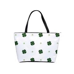 Green Leaf Shoulder Handbags