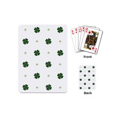Green Leaf Playing Cards (Mini)