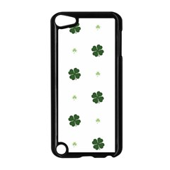 Green Leaf Apple iPod Touch 5 Case (Black)