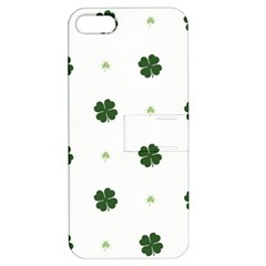 Green Leaf Apple iPhone 5 Hardshell Case with Stand