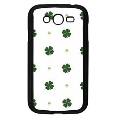 Green Leaf Samsung Galaxy Grand DUOS I9082 Case (Black)