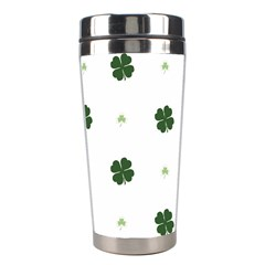 Green Leaf Stainless Steel Travel Tumblers