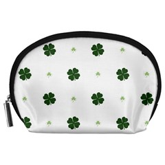 Green Leaf Accessory Pouches (Large)