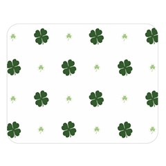 Green Leaf Double Sided Flano Blanket (Large)