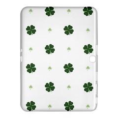 Green Leaf Samsung Galaxy Tab 4 (10.1 ) Hardshell Case