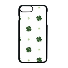 Green Leaf Apple Iphone 7 Plus Seamless Case (black)