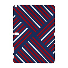 Geometric Background Stripes Red White Galaxy Note 1