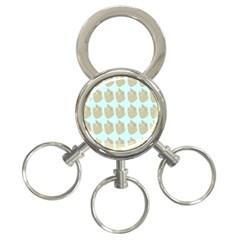 Kukang Animals 3-Ring Key Chains