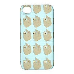 Kukang Animals Apple iPhone 4/4S Hardshell Case with Stand