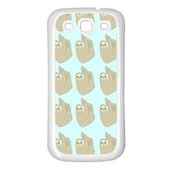 Kukang Animals Samsung Galaxy S3 Back Case (White)